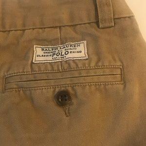 POLO RALPH LAUREN Khaki Classic Chino Shorts